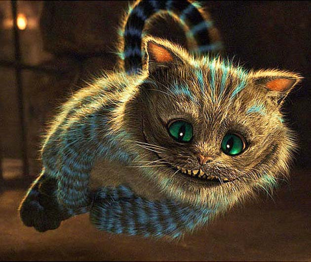 アリスインワンダーランドのチェシャ猫2