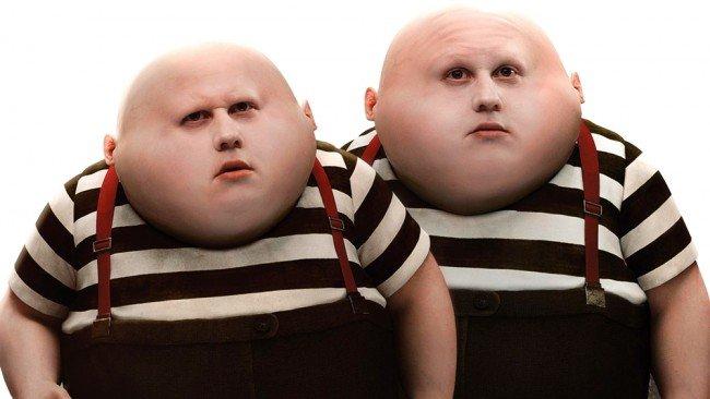 アリスインワンダーランドの双子
