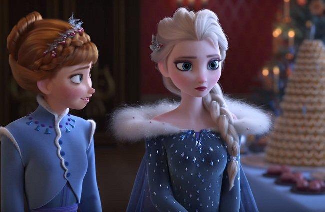 衣装変化アナと雪の女王